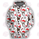 Donkey Christmas - 3D All Over Printed Hoodie