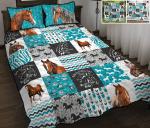 Enjoy The Ride - Horse Quilt Bed Set & Quilt Blanket