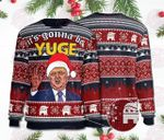 It's Gonna Be Yuge Christmas Wool Sweater