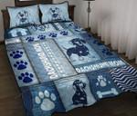 Dachshund Mom Quilt Bed Set