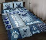 Pug Mom Quilt Bed Set