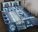 Shih Tzu Mom Quilt Bed Set