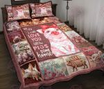 I Will Love You Till The Pigs Come Home Quilt Bed Set & Quilt Blanket