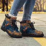 Chicken Floral Style All Season Boots