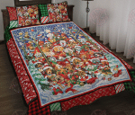 Dogs Sing Quilt Bed Set