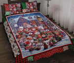 Cats Sing Quilt Bed Set