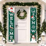 Christmas Porch Banner Decoration