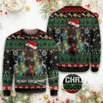 Black Cat Christmas Sweater