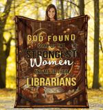 Librarians Fleece Blanket