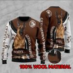 German Shepherd Customize Christmas Sweater