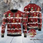 Dachshund Christmas Sweater