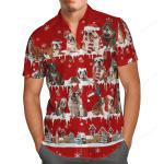 English Bulldog Christmas Hawaii Shirt
