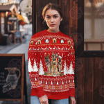 German Shepherd Christmas Sweater