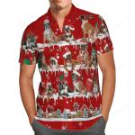 Boxer Snow Christmas Hawaii Shirt