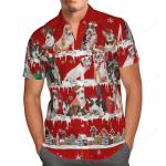 Bull Terrier Snow Christmas Hawaii Shirt