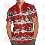 French Bulldog Snow Christmas Hawaii Shirt