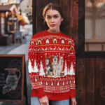 Alaskan Malamute Christmas Sweater