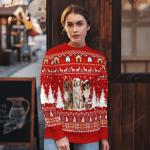 Australian Shepherd Christmas Sweater