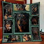 Rottweiler 3D Quilt Blanket