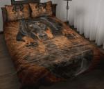 Doberman Reflection Quilt Bed Set