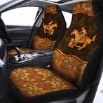 Barrel Racing Car Seat Cover