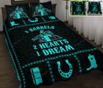 Barrel Racing Boho Quilt Bed Set & Quilt Blanket