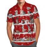 Cat Snow Christmas Hawaii Shirt