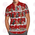 Poodle Snow Christmas Hawaii Shirt