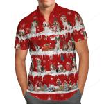Beagle Snow Christmas Hawaii Shirt