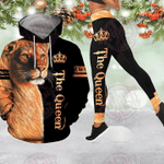 Lion Queen 3D All Over Printed Hoodie & Leggings