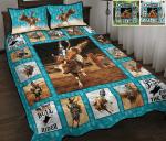Bull Riding Quilt bed Set & Quilt Blanket HPV02