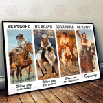 Cowgirls - Be Strong Poster