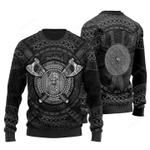 Viking Axes & Shield Christmas Sweater