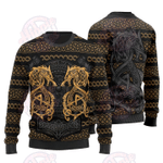 Fenrir The Nordic Monster Wolf Christmas Sweater