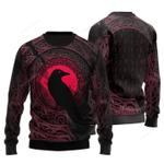 Viking Raven Christmas Sweater