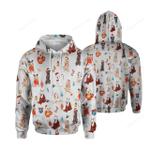 Labrador Retriever Christmas All Over Printed Shirt
