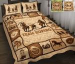Team roping Quit Bed Set & Quilt Blanket