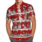 Jack Russell Terrier Snow Christmas Hawaii Shirt