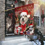 Christmas Begins With Husky Flag