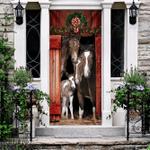 Happy Family Horse Door Sticker