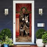 Happy Family Donkey Door Sticker