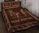 Team roping quilt bed set & quilt blanket HPV02