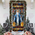 Mary, Our Lady of Sorrows Door Sticker