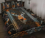 Native American Deer Quilt Bed Set