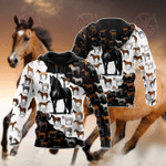 Love Horse 3D All Over Printed Hoodie