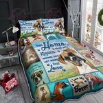 I Love My Boxer Quilt Bed Set