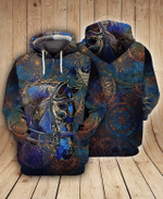 3D Horse Art All Over Printed Hoodie