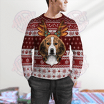 Beagle Ugly Wollen Sweater