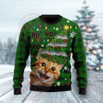 Cat Christmas Tree HT061120 Ugly Christmas Sweater