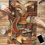 Dachshund Coffee Shop - Puzzle